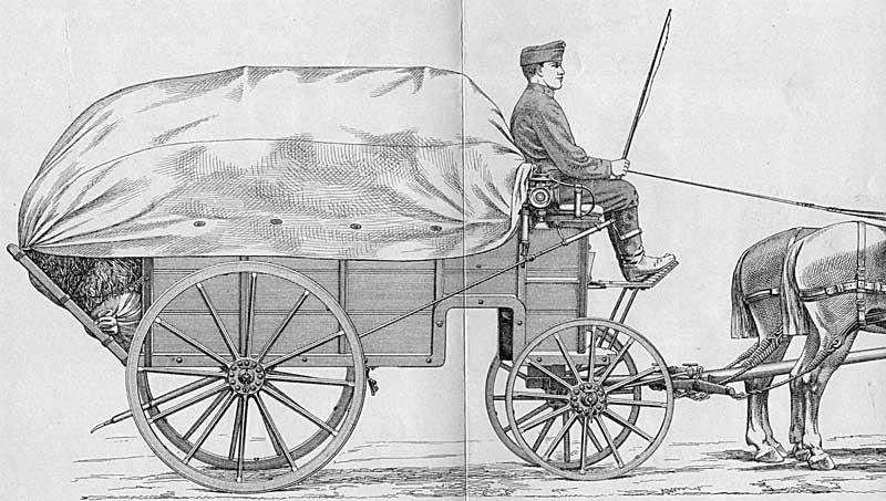 der stabswagen f r generale welcher als bagage schlaf und als kutschierwagen f r. Black Bedroom Furniture Sets. Home Design Ideas